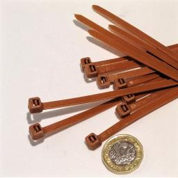 Cable Ties - Brown (large)