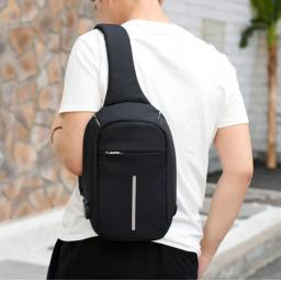Shoulder Bag with USB cable