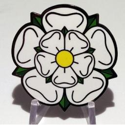 UK Mega Rose Geocoin