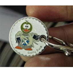 Scotty Duck TT coin