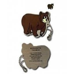 Bernadette the Bear Travel Tag
