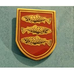 Peebles Pin Badge