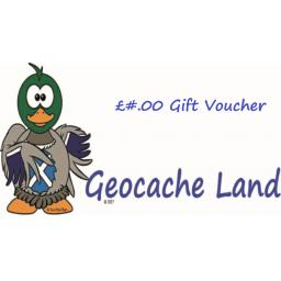 Geocache Land Gift Voucher £10