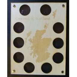 Geocoins of Scotland Frame