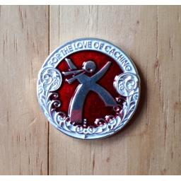 Jumping Man Geocoin