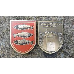 Caledonian CacheFest 2017 Event Geocoin