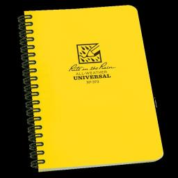 "Rite in the Rain Universal Notebook, Side Spiral Bound, 4"" X 7"""