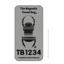 Magnetic Travel Bug®