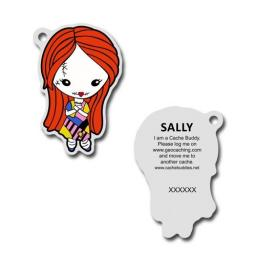 Sally Travel Buddy tag