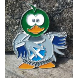 Scotty Duck Geocoin (Version1)