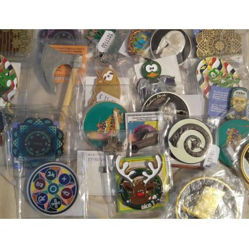 10 for 7 Geocoin Grab Bag