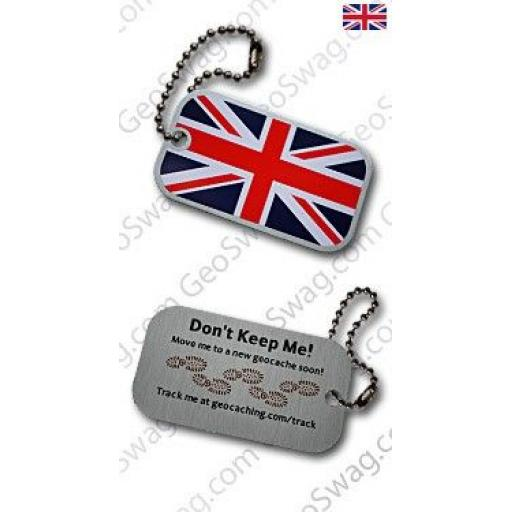 UK Flag Cache Buddy