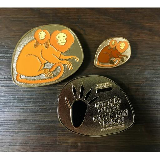 Golden Lion Tamarin Geocoin
