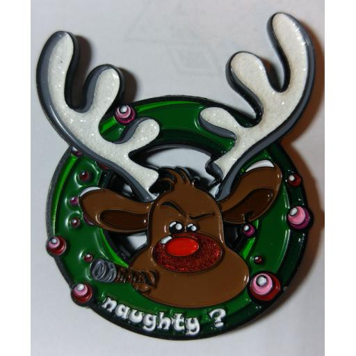 Naughty or Nice Geocoin