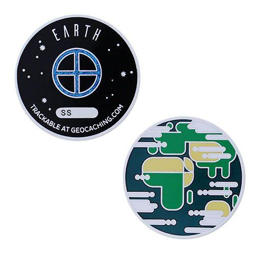 Solar System Geocoin- Earth
