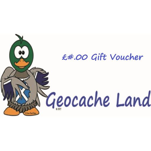 Geocache Land Gift Voucher £5