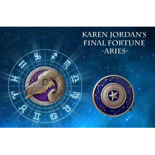 Karen Jordan's Final Fortune - Aries
