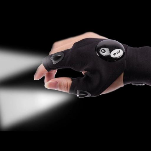Finger torch glove