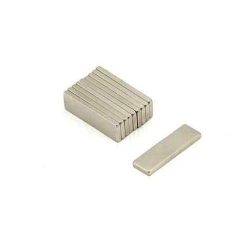 10mm x 10mm x 1mm N42 bar magnet