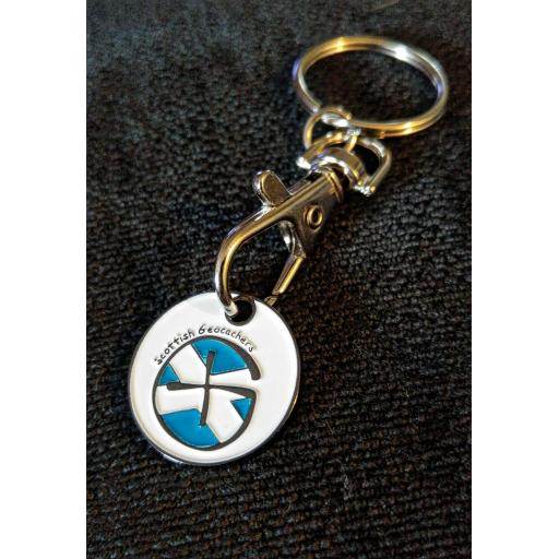 Scottish Geocachers TT Geocoin