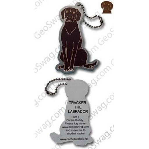 Tracker the Labrador Travel Tag