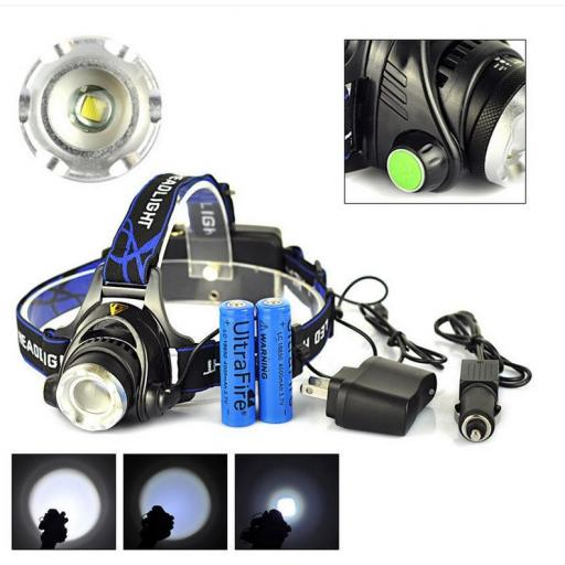 2500 lumen Head Torch