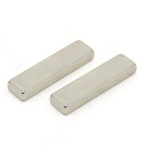 40mm x 10mm x 5mm N42 bar magnet