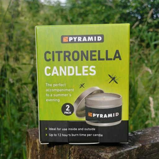 Citronella Candles (twin pack)