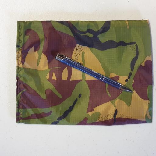 Hand Made Camo Bags - Large Velcro