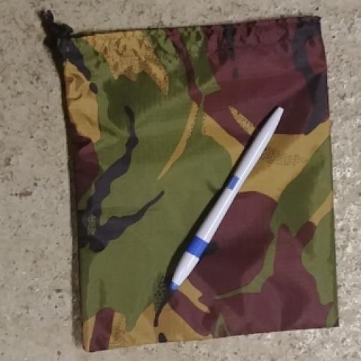 Hand Made Camo Bags - Medium Pull Cord
