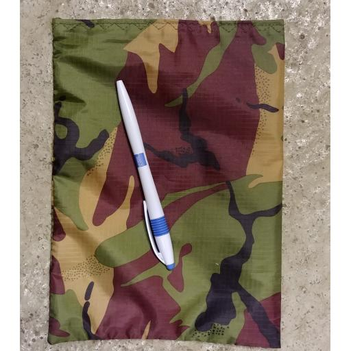 Hand Made Camo Bags - Medium Velcro