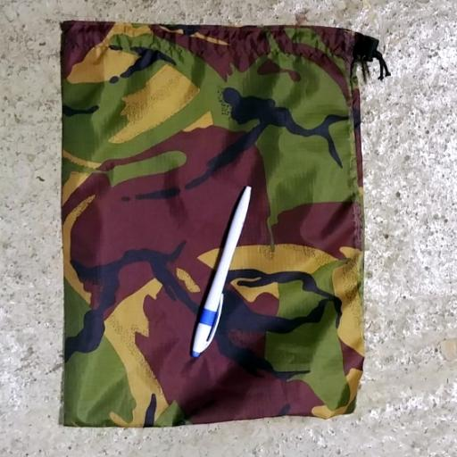 Hand Made Camo Bags - Large Pull Cord
