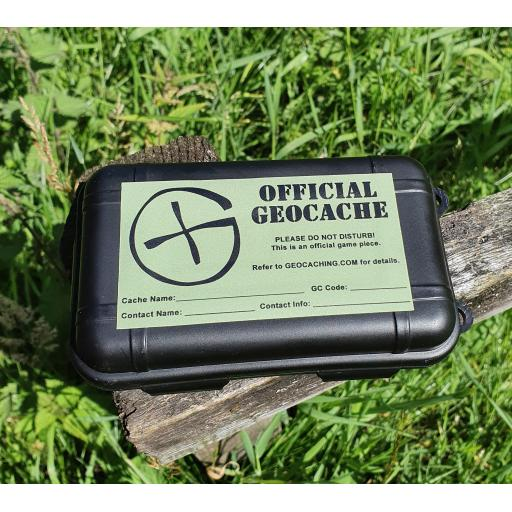 Waterproof Geocache - Small